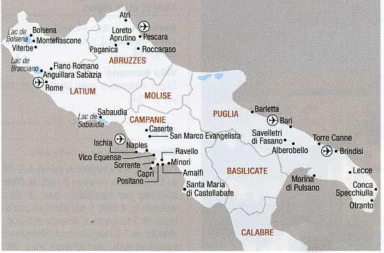 Circuits en italie à la carte